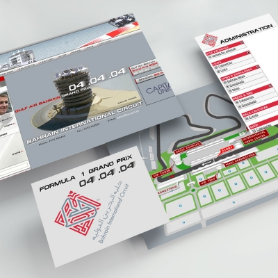 Bahrain Formula 1 Grand Prix | 2003 (Floating Screens) © echonet communication